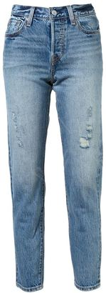 Levi's washed jeans $158 thestylecure.com