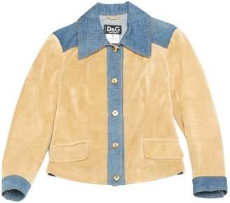 Dolce & Gabbana Beige Suede Jackets