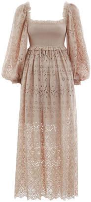 Zimmermann Bayou Blouson Long Dress