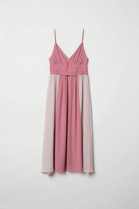 H&M V-neck Dress - Pink