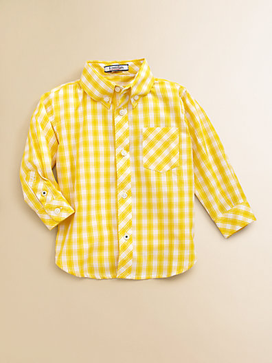 Hartstrings Infant's Checked Button-Down Shirt