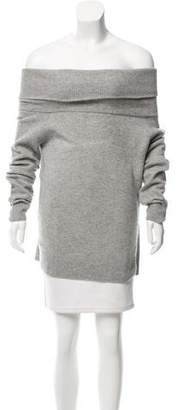 Alexander Wang Cowl Neck Wool-Cashmere Sweater