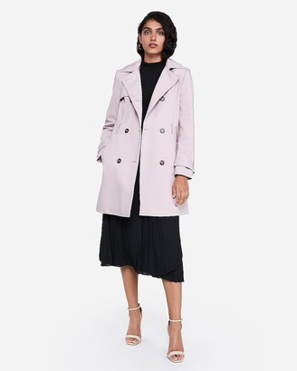 Express Classic Double Breasted Trench Coat