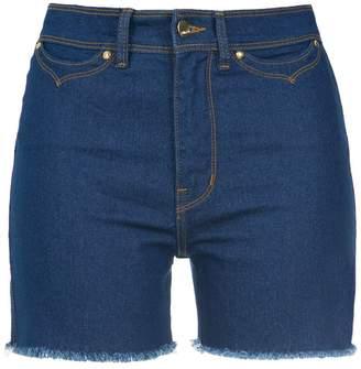 Amapô high waisted denim shorts