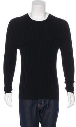 Burberry Cashmere Rib Knit Sweater