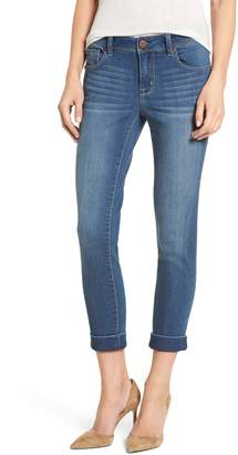 1822 Denim Cuff Roll Skinny Crop Jeans
