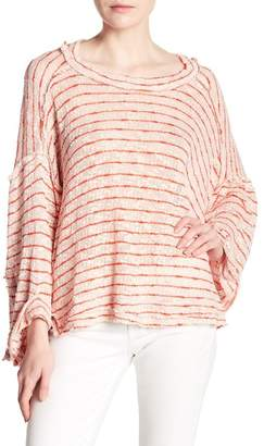 Free People Island Girl Hacci Stripe Tee