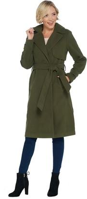 Brooke Shields Timeless BROOKE SHIELDS Timeless Faux Wool Blend Coat