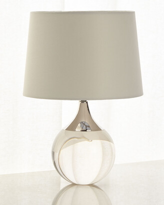 Regina-Andrew Design Regina Andrew Design Fluted Crystal Ball Lamp