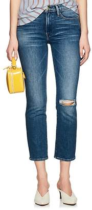 Frame Women's Le High Straight Distressed Jeans