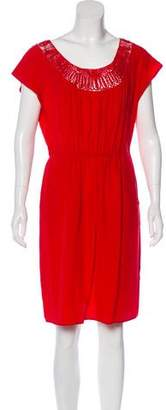 Barneys New York Barney's New York Silk Knee-Length Dress