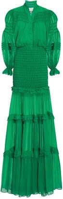 Alexis Sinclair Ruffle Gown