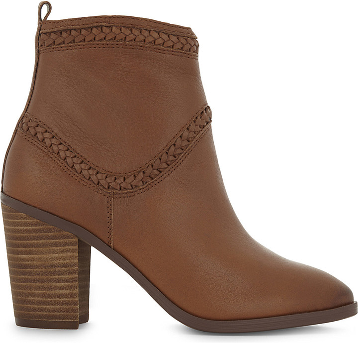 Aldo Aldo Cathrina leather heeled ankle boots