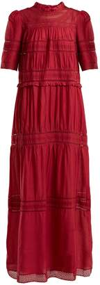 Etoile Isabel Marant Vealy lace-trimmed cotton-blend dress