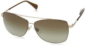 Ralph Lauren Ralph by Women's 0ra4121 Aviator Sunglasses