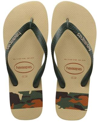 Havaianas Top Stripes Logo Printed Flip Flop