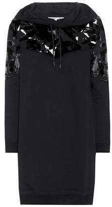 McQ Hooded cotton sweater dress
