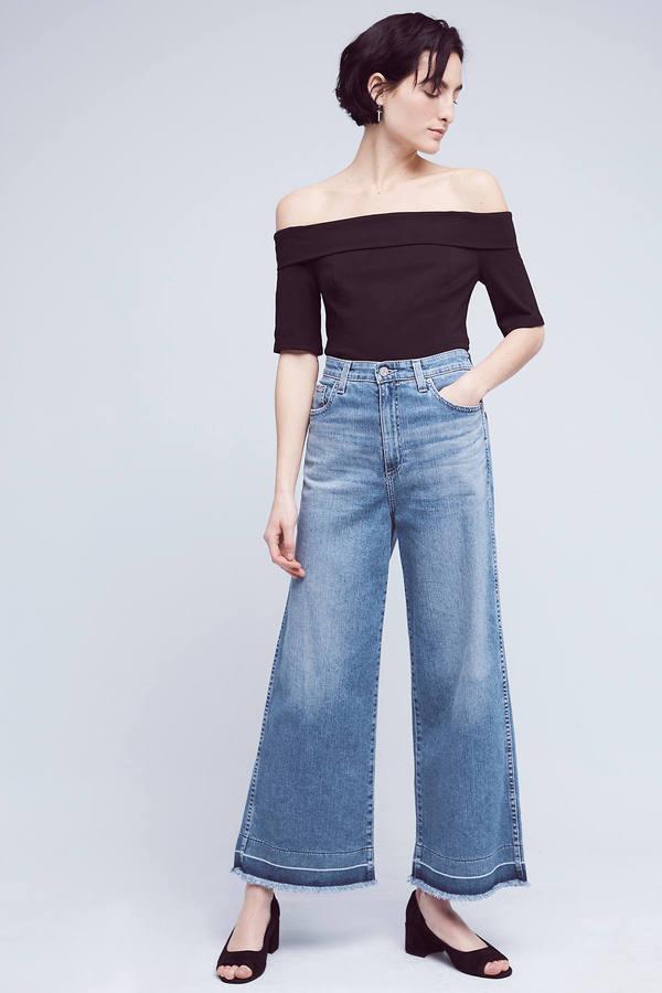 AG JeansAG Yvette High-Rise Crop Jeans