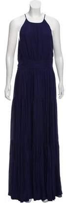 L'Agence Silk Maxi Dress w/ Tags