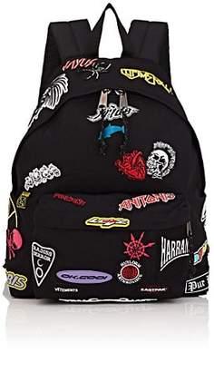 Vetements Men's Canvas Backpack - Black