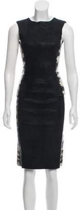 Drome Leather & Python Skirt Set