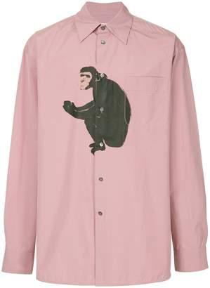 Marni monkey print shirt