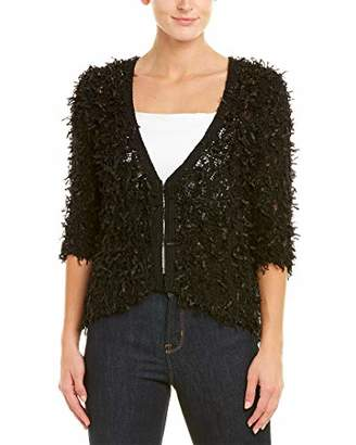 Nic+Zoe Women's Petite Plush Party Cardy