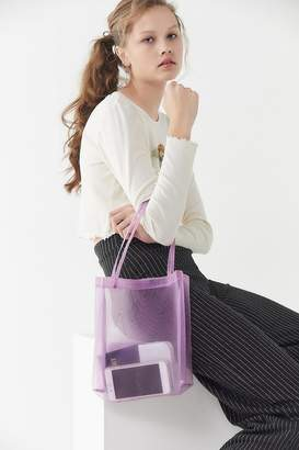 Urban Outfitters Rayne Mesh Tote Bag