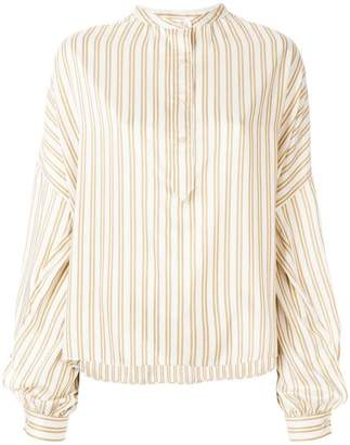 Isabel Marant puff sleeve striped shirt