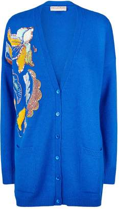 Emilio Pucci Embroidered Cashmere Cardigan