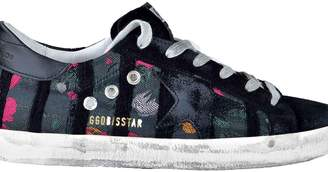 Golden Goose Embroidered Sneakers