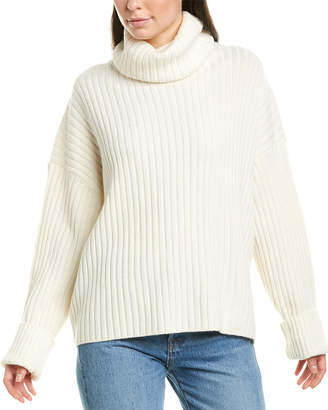 RE/DONE Chunky Rib Wool & Cashmere-Blend Sweater