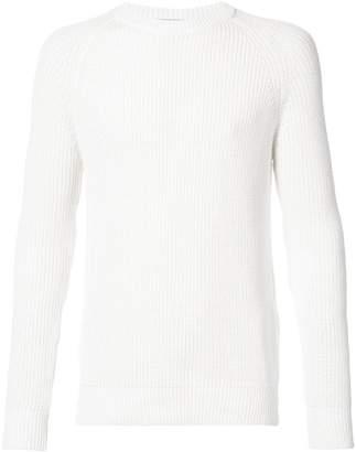 Ami Alexandre Mattiussi ribbed knit sweater