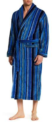 Robert Graham Printed Shawl Collar Robe
