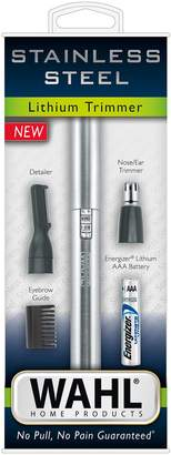 Wahl 2-in-1 Stainless Steel Lithium Pen Trimmer