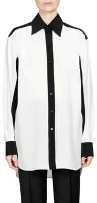 Givenchy Silk Crepe de Chine Shirt