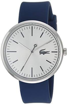 Lacoste Men's 'Orbital' Quartz Stainless Steel and Silicone Casual Watch