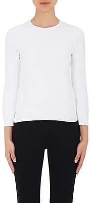 Barneys New York Women's Jewel-Neck Sweater - White