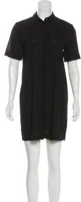 Alexander Wang Silk Blend Mini Dress