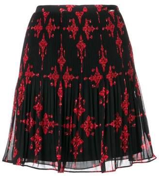 Liu Jo jewel print pleated skirt