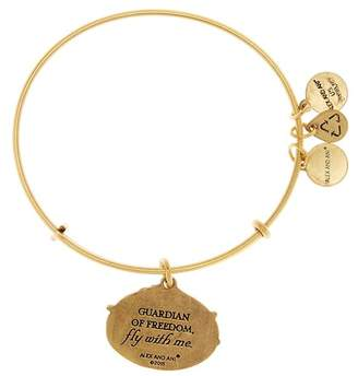 Alex and Ani Guardian of Freedom Charm Expandable Wire Bracelet