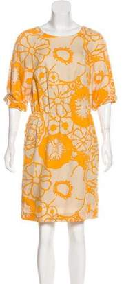3.1 Phillip Lim Floral Print Knee-Length Dress