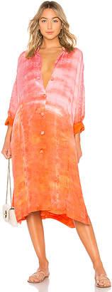Raquel Allegra Collarless Kimono