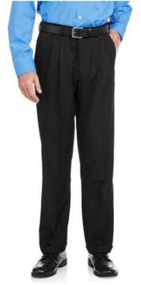 George Men's Adjustable Waist Pleated Dress Pant