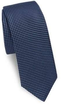 Saks Fifth Avenue Two-Tone Dot Silk Tie