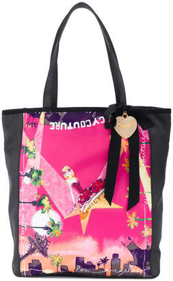 Juicy Couture printed shopper tote