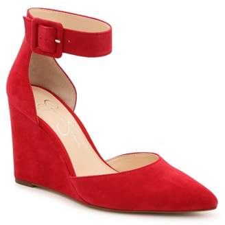 Jessica Simpson Moyra Wedge Pump