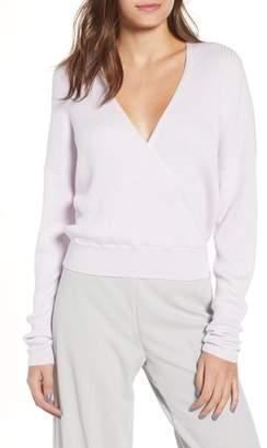 Leith Rib Wrap Sweater