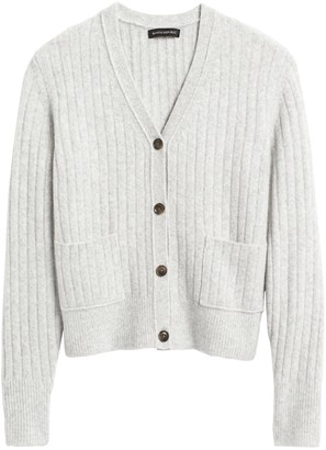 Banana Republic Aire Cropped Cardigan Sweater