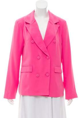 Lovers + Friends Double-Breasted Structured Blazer w/ Tags